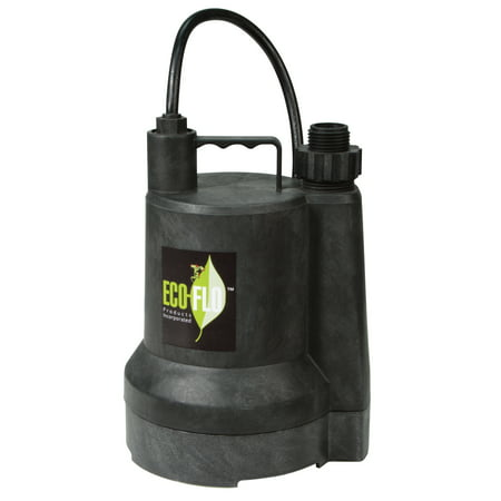 Eco Flo SUP54 1/6 HP Submersible Utility Pump