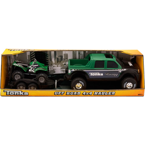 Tonka Off-Road ATV 4x4 Hauler Vehicle