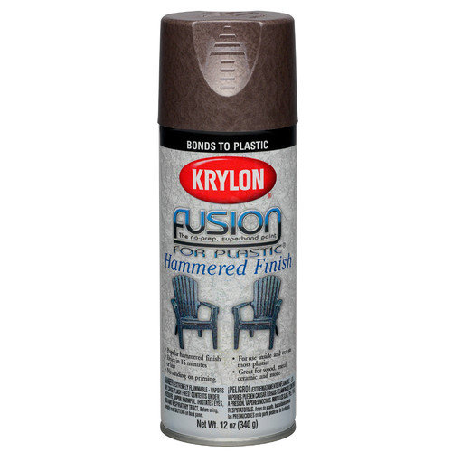 Fusion For Plastic Hammered Finish Spray Paint Krylon Spray Paint 2534