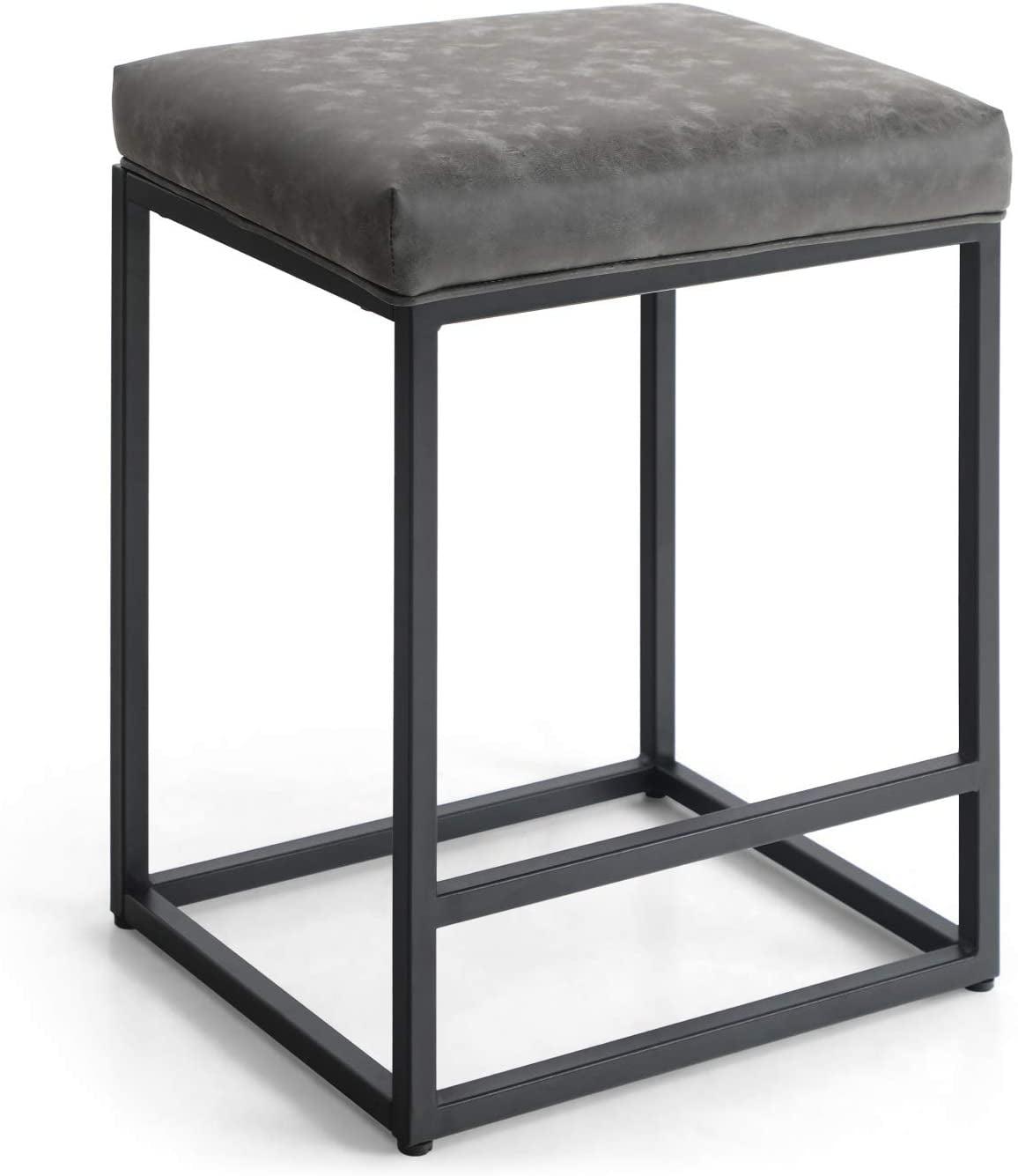 "mf studio 24"" bar stool counter height bar stools with"