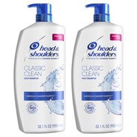 Head and Shoulders Dandruff Shampoo, Classic Clean, 32.1 oz