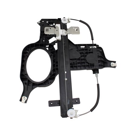 BROCK Drivers Rear Power Window Left Lift Regulator for 03-06 Ford Expedition Lincoln Navigator SUV