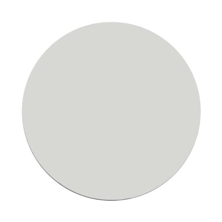 KleenSlate Adhesive Round Replacement Blank Dry Erase Circles, White, Pack of 24