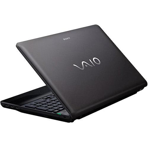 "Sony Refurbished Black 15.5"" VAIO VPCEE42FX/BJ Laptop PC with AMD Athlon II Dual-Core P360 Processor and Windows 7 Home Premium"