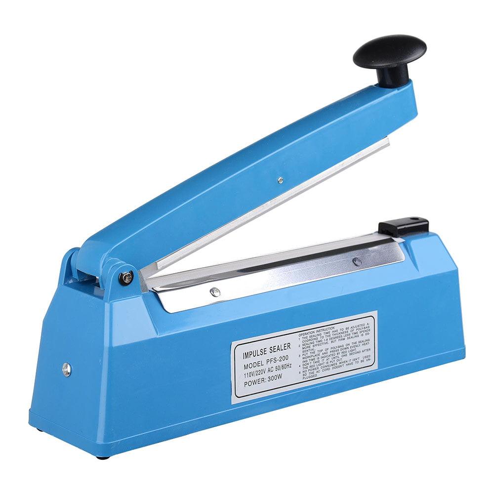 Yescom 8 12 16 20 Impulse Manual Hand Sealer Heat Sealing Machine Poly Tubing Plastic Bag