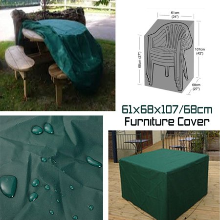 68x68cm Waterproof Outdoor Patio Garden Furniture Rain Snow Cover Table Chair - image 1 of 1