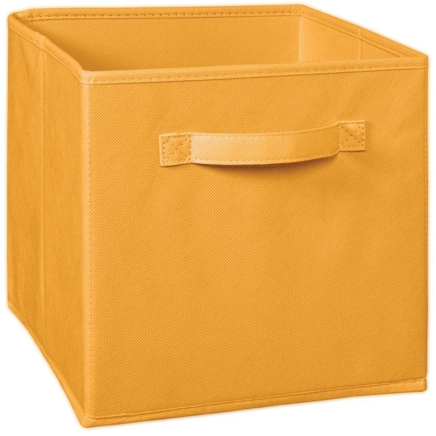 ClosetMaid Fabric Drawer, Orange Cream