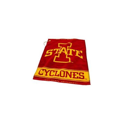 Team Golf 25980 Iowa State University Woven Golf Towel