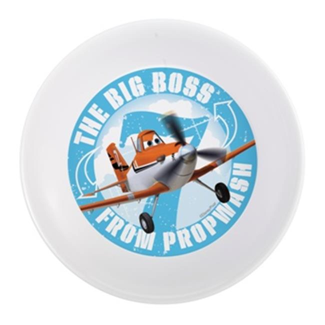 Zak Design Disney Planes PLNC-0361 5. 5 inch Melamine Bowl Set, Pack Of 6