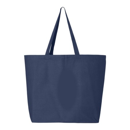 Q600 245L Jumbo Canvas Shopper Bag By Q-Tees Prada Shopper Bag
