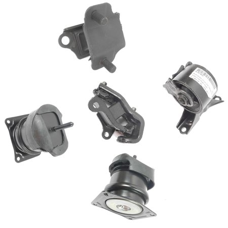 Fits: 1999 Acura TL 3.2L Motor & Trans Mount Kit 5PCS 99 A4507 A6552 A6579 A6582 A6592 1999 Acura Cl Engine Motor