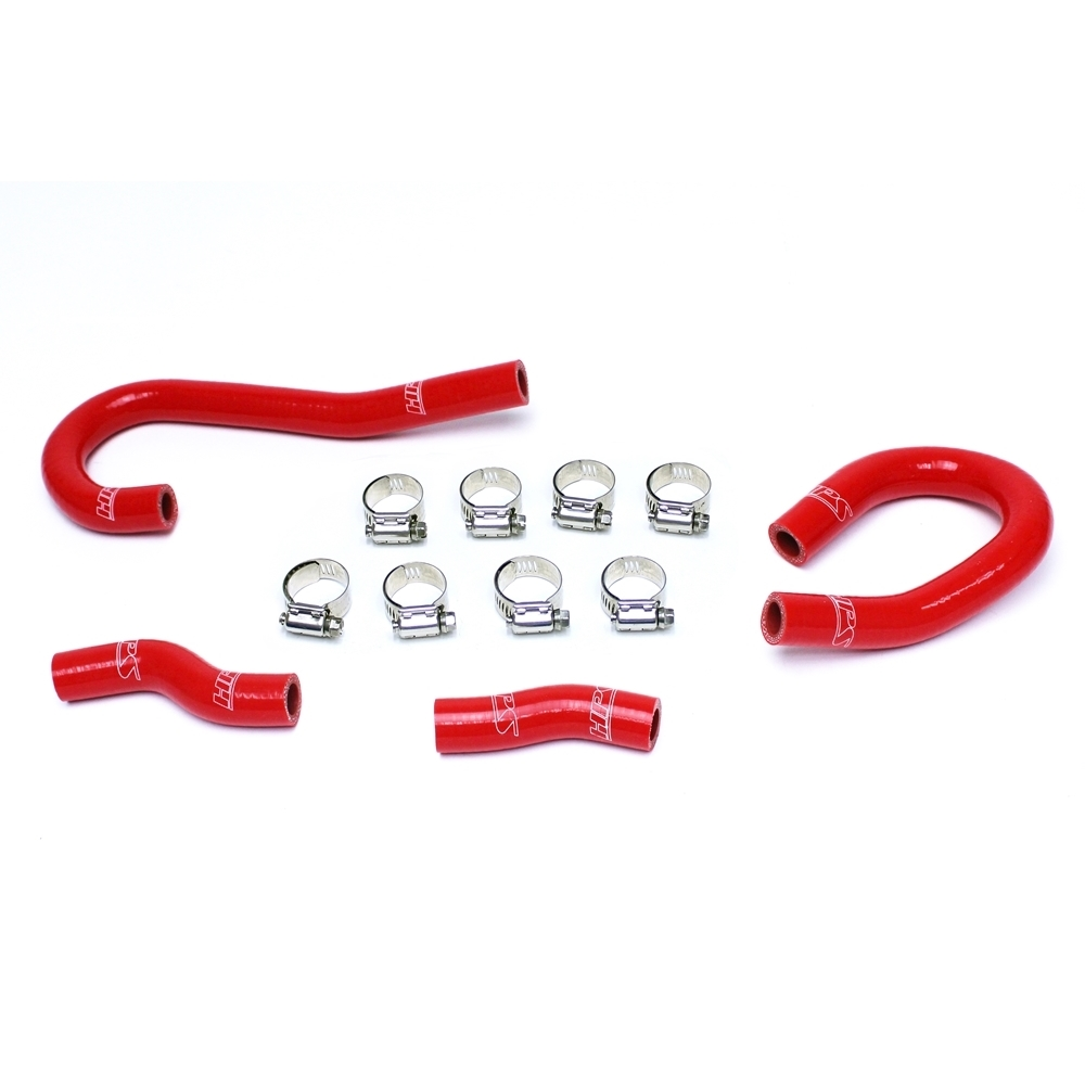 HPS Red Silicone Radiator Hose Kit For Jeep 12-18 Grand Cherokee WK2 SRT8 6.4L