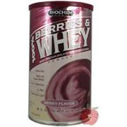 100% Berries & Whey Isolate Biochem 11.7 oz Powder