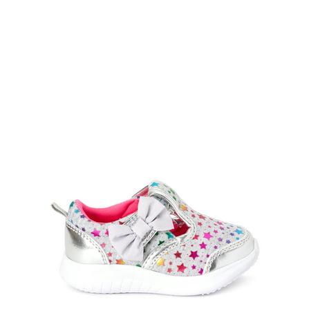 Wonder Nation Mary Jane Bow Slip-on Sneaker (Infant Girls)