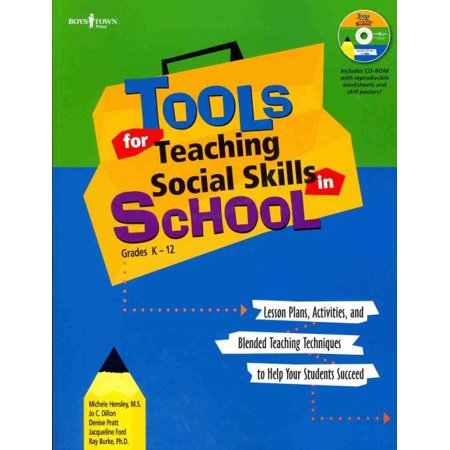 Tools For Teaching Social Skills In Schools Lesson Plans