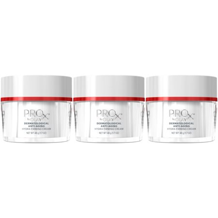 3 Pack - Olay Professional ProX Hydra Firming Cream Anti Aging 1.7 Oz - 3 Headed Hydra