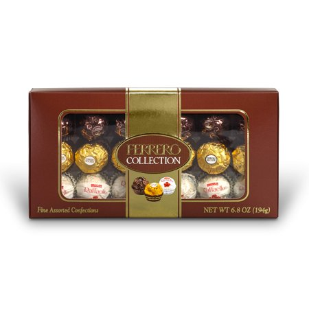 Ferrero Rocher Hazelnut Chocolates Collection, 18 Ct (Pack of 2)
