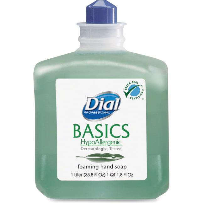 Basics Foaming Hand Wash, Refill, 1000mL, Honeysuckle, 6/Carton 06060CT