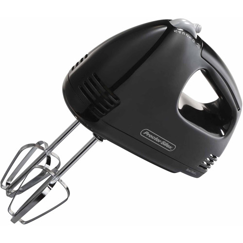 Hamilton Beach Black Easy Mix Hand Mixer