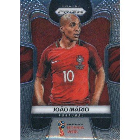 2018 Panini Prizm #160 Joao Mario Portugal Soccer Card