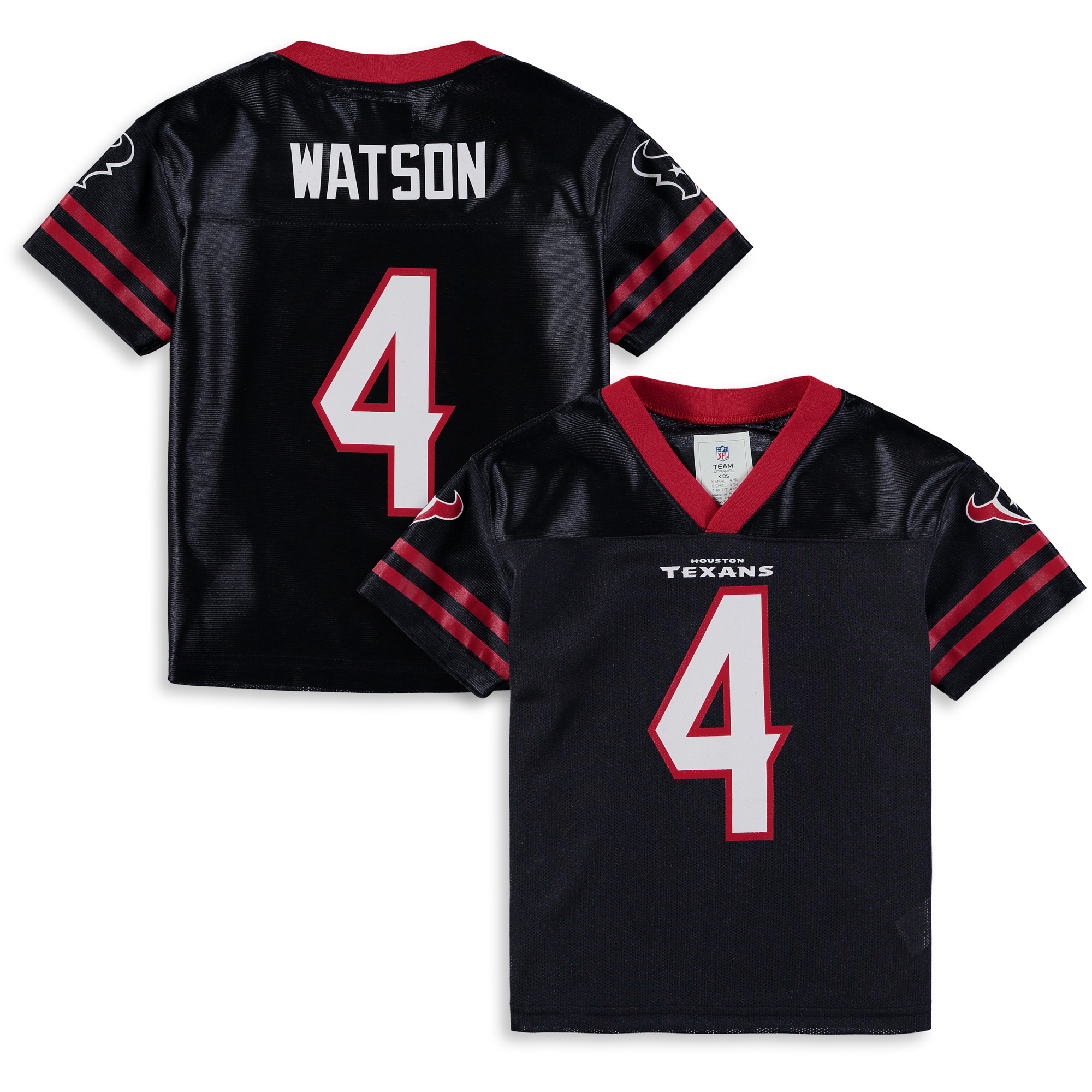 Youth Deshaun Watson Navy Houston Texans Team Color Jersey