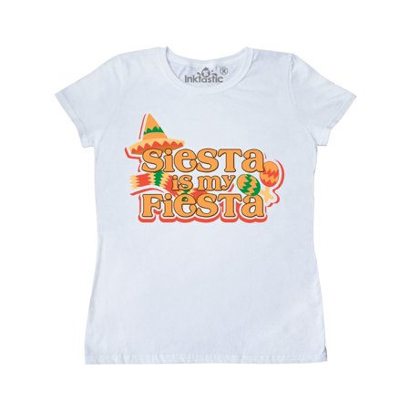 Siesta is my Fiesta Women's T-Shirt](Adornos Fiesta Halloween)