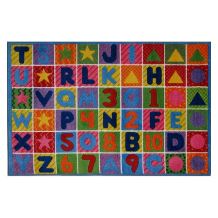 - Fun Rugs Numbers and Letters Kids' Rug