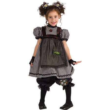Gothic Rag Doll Child Halloween Costume - Baby Doll Dress Halloween Costume