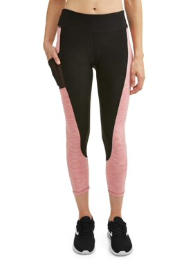 40112132a10804 Product Image Women's Active Spacedye Insert Performance Capri Legging