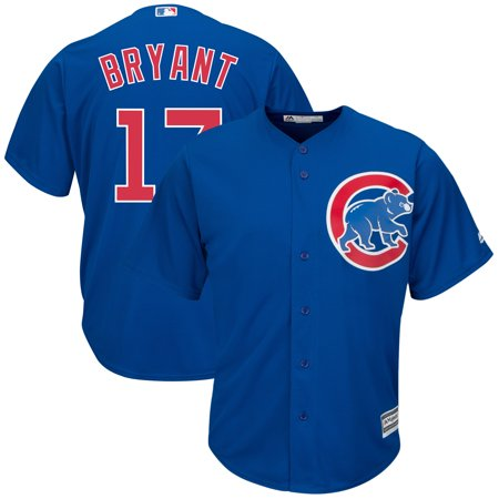 Kris Bryant Chicago Cubs Majestic Big & Tall Alternate Cool Base Replica Player Jersey -