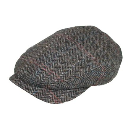 Men's Harris Tweed Longshoreman Cap with