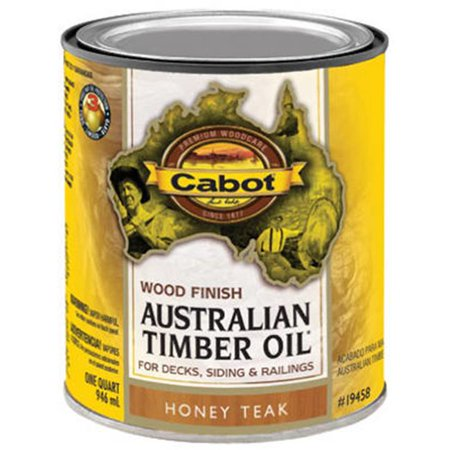 Australian Timber Oil Wood Stain Finish, Honey Teak, Qt. ()