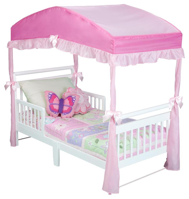 Fantasy Collection - Delta Children Baker Toddler Bed & Canopy Value Bundle