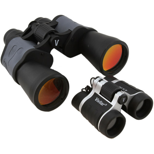 Vivitar Value Series 8x50 and 4x30 Binocular Set