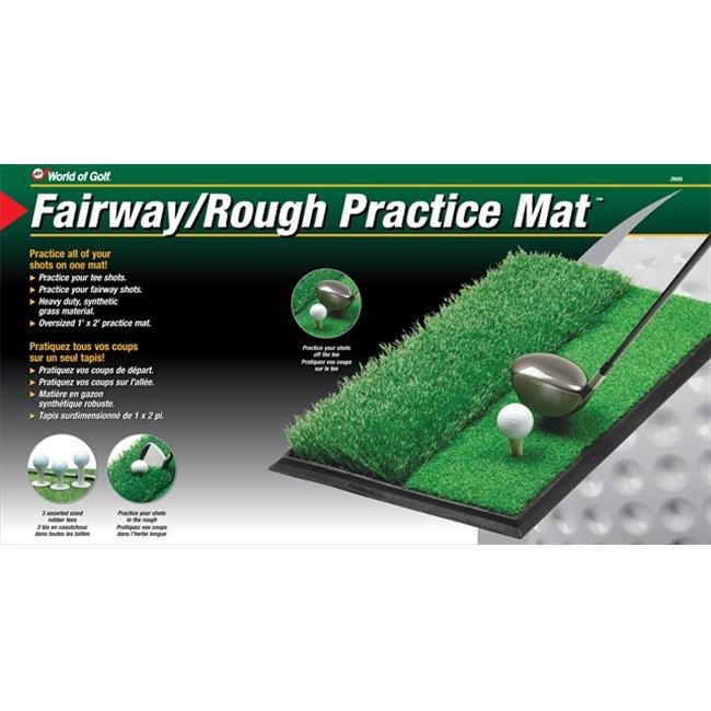 JEF World Of Golf JR609 Fairway & Rough Practice Matt