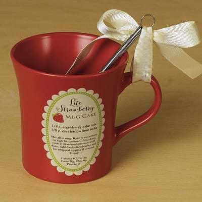 Abbey Press - Abbey Press My Cup Runneth Over  Lite Strawberry Cake Mug