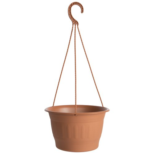 "Image of 10""Colonnade Hanging Basket Planter, Cement"