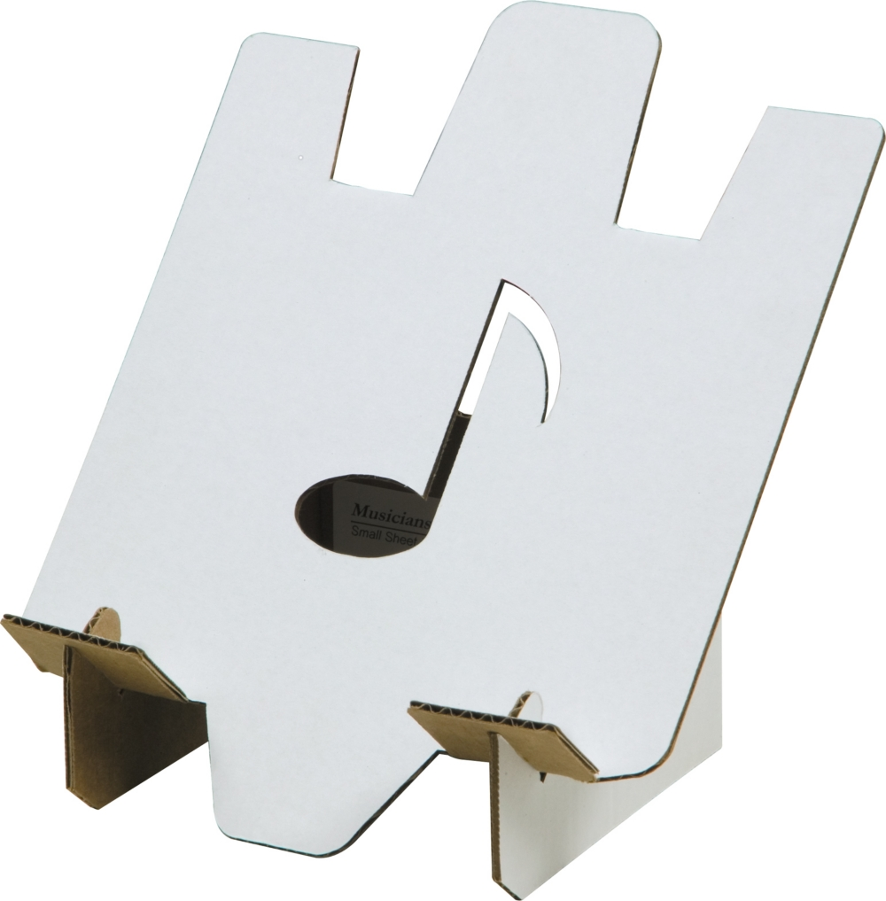Click here to buy Giardinelli Cardboard Music Stand by Giardinelli.