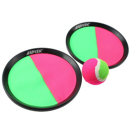 AGPtek Ball and Catch Mitt Sports Game Set for Kids](Fuzzy Ball Game)