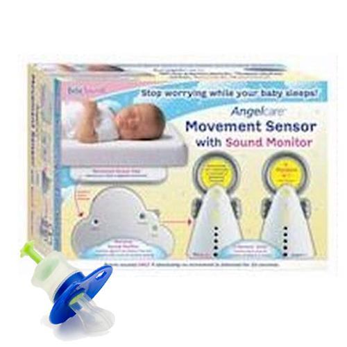 BebeSounds AngelCare AC-201-2P Kit Baby Movement Sensor and Sound Monitor with K
