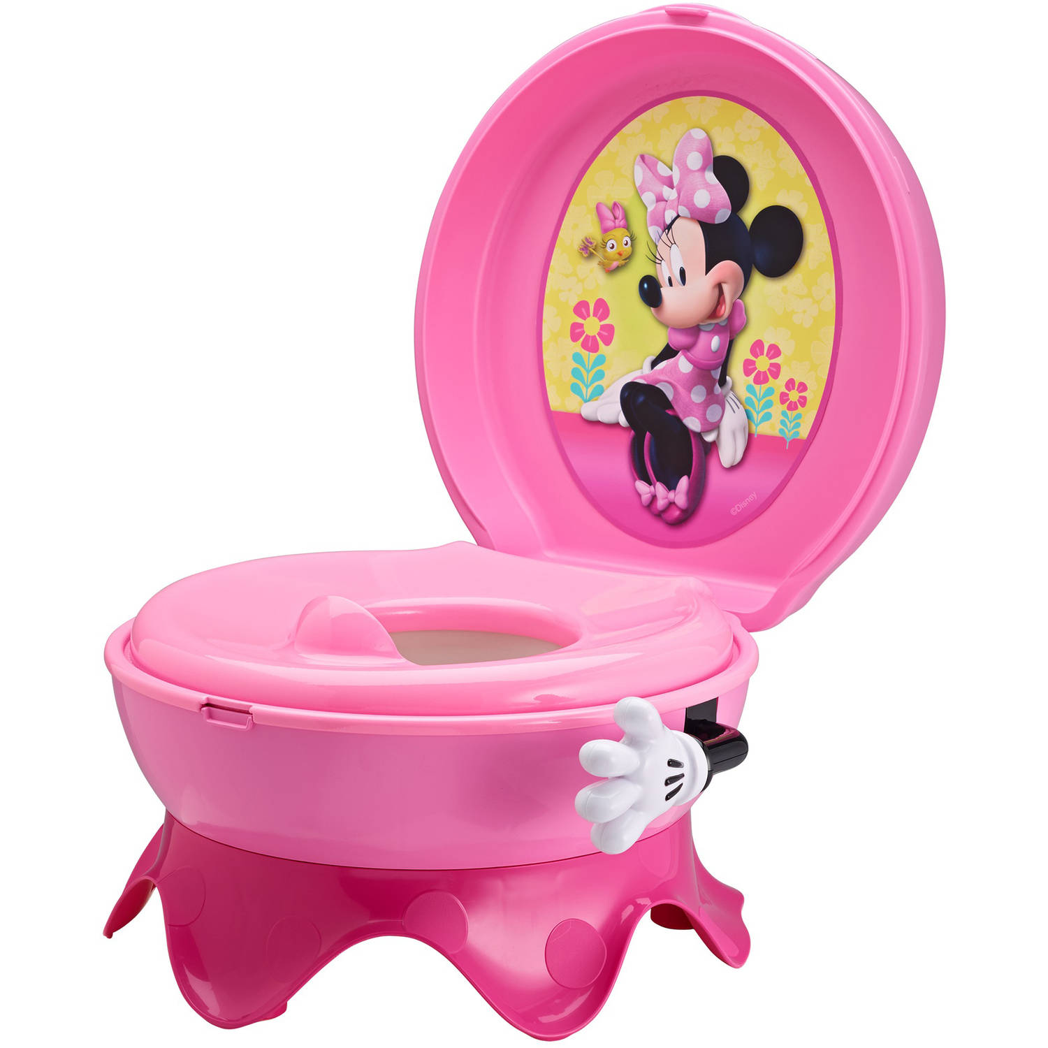 The First Years Disney Baby Minnie Mouse 3-in-1 Celebration Potty System