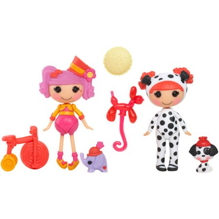 Mini Lalaloopsy Silly Fun House Peanut and Ember Dolls