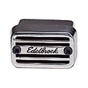 EDELBROCK 4204 Elite Series Push-In Rectangular Breather - Short