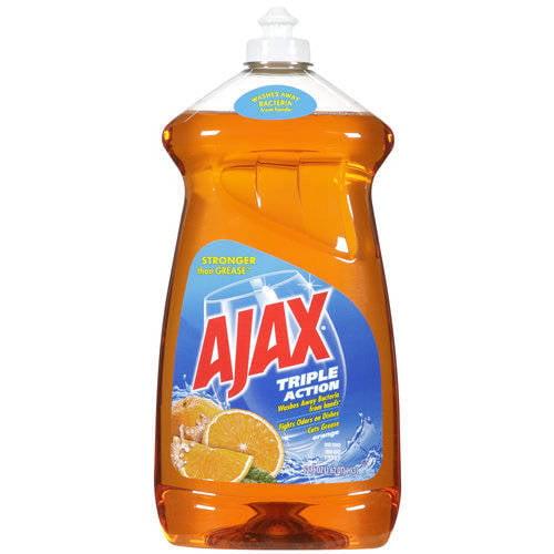 Ajax Triple Action Orange Dish Liquid/Hand Soap, 52 fl oz