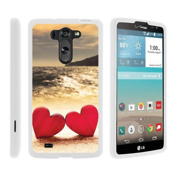 TurtleArmor ®   For LG G Vista   LG Optimus G Pro 2   LG G Pro 2 Lite [Slim Duo] Two Piece Hard Cover Slim Snap On Case - Sandal Flipflops