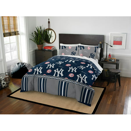 New York Yankees Queen Bed In Bag Set