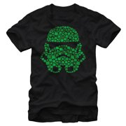 Star Wars Men's St. Patrick's Day Shamrock Stormtrooper T-Shirt by Fifth Sun