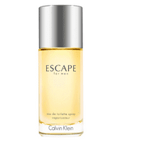 ($78 Value) Calvin Klein Escape Eau de Toilette Spray, Cologne for Men, 3.4 Oz