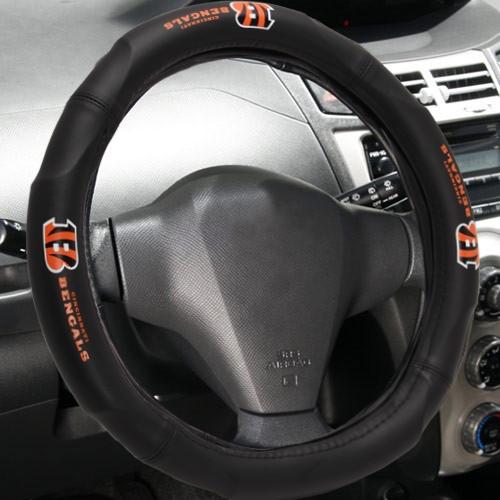 Cincinnati Bengals Steering Wheel Cover - No Size