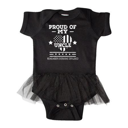 Military Uncle Red Friday Infant Tutu Bodysuit